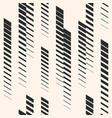 vertical lines pattern tracks halftone stripes vector image vector image