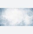 watercolor blue indigo splash on paper texture vector image