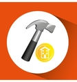 construction remodel screw icon graphic vector image