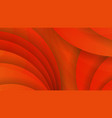 abstract background of orange color curved lines vector image vector image