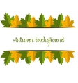 Big Autumn sale Fall sale design Three banners vector image vector image