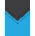 blue grey arrow hexagon mesh pattern direction vector image vector image