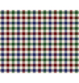 colored checked fabric texture seamless pattern vector image vector image