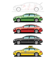 Fastback taxi vector image