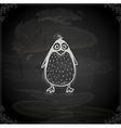 Hand Drawn Penguin vector image