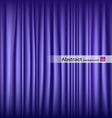 purple theater curtain vector image