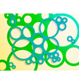 set bright abstract circles frames design vector image vector image