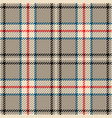tartan seamless pattern in multiple colours vector image vector image