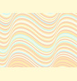 wavy stripes background abstract papercut vector image vector image