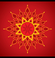 creative diwali greeting card design vector image