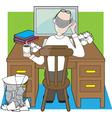 deskwork vector image vector image