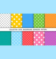 dots abstract background template background dots vector image vector image
