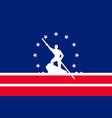 flag of richmond in virginia usa vector image vector image