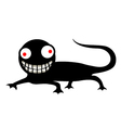 funny reptile vector image vector image
