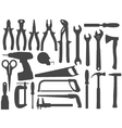 Hand work tools vector | Price: 1 Credit (USD $1)