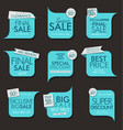 modern sale banners and labels collection 05 vector image