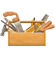 Toolbox with retro instruments
