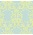 Vintage Floral Baroque ornament pattern vector image vector image
