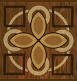 wooden inlay light and dark wood patterns wooden vector image vector image