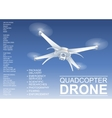 Drone Technical vector image