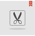 Scissors icon concept for vector image