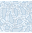 Blue paisley vector image vector image