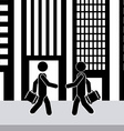 city concept vector image vector image