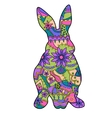 colorful rabbit vector image vector image