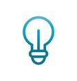 creativity idea user interface blue gradient vector image vector image