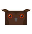 cute halloween cartoon owl avatar vector image vector image
