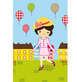 cute picnic vector image vector image