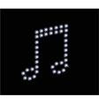 Diamond Music Symbol vector image vector image