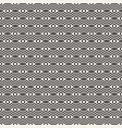 geometric seamless pattern ornament background vector image vector image