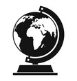 globe icon simple style vector image vector image