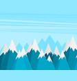 mountains success goal achievement business vector image vector image