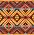 navajo style pattern vector image vector image