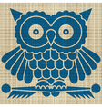 Owl print vector | Price: 1 Credit (USD $1)