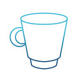 porcelain mug isolated vector image vector image