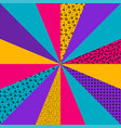 textured colorful retro background vector image vector image
