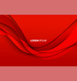 abstract elegant red background vector image