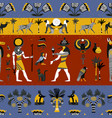 ancient egyptian religion seamless pattern vector image vector image