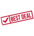 Best Deal rubber stamp vector image vector image