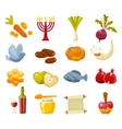 Cartoon flat of icons for vector image vector image
