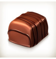 Chocolate candy icon vector image
