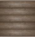dark brown wooden planks texture vector image vector image