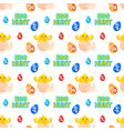 easter sale cute seamless pattern ornament vector image vector image