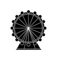 ferris wheel icon image vector image