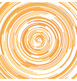 hypnotic abstract half circle background vector image