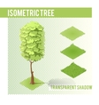 Isometric Tree 002 vector image vector image