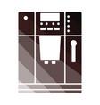 kitchen coffee machine icon vector image vector image